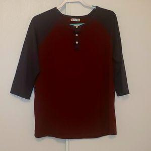 Men's Casual dress up Medium Sleeve T shirt 😀